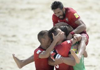 Portugal estreia-se no Campeonato do Mundo com goleada