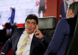 """Maradona considera que Bauza """"tem um ferro quente nas mãos"""""""