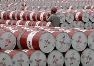 Preço do barril Brent desce