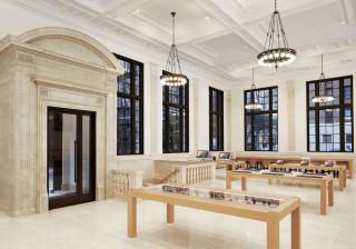 Na visão original para as lojas da Apple poderia beber um café