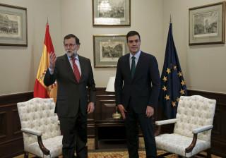 Rajoy e Sanchéz reúnem-se na segunda-feira no Congresso