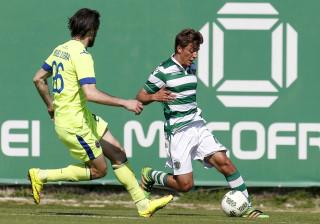Francisco Geraldes é grande novidade na convocatória do Sporting