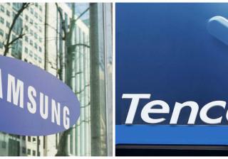 Samsung e Tencent perto do título de empresa mais valiosa da Ásia