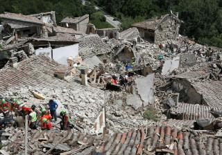 Cerca de 160 réplicas após terramoto no centro de Itália
