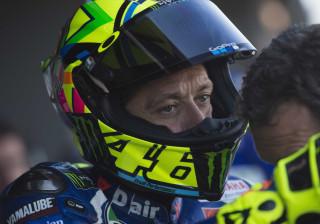 Rossi tem acidente de motocross e acaba internado no hospital