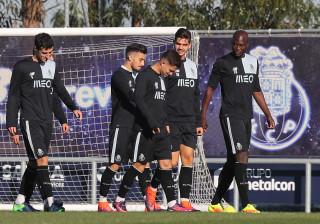FC Porto regressa aos treinos para preparar jogo com a Juventus