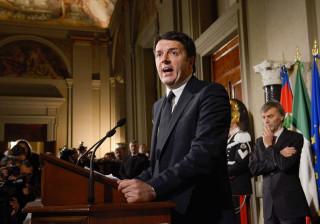 Renzi cessante deseja os melhores votos para o próximo chefe de Governo