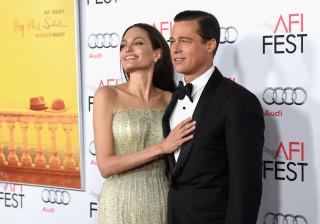 Angelina Jolie e Brad Pitt encontraram-se às escondidas