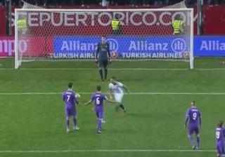 Vitolo provocou, Ronaldo respondeu e adversário ficou fora de si
