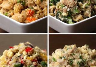 Quatro receitas de 'arroz de couve-flor' para quem está de dieta