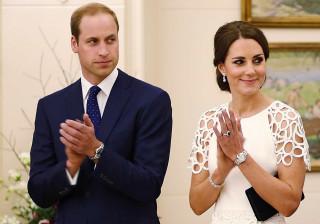 Empregada de Kate e William demite-se: