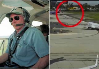 Divulgado vídeo de Harrison Ford a quase acertar noutro avião