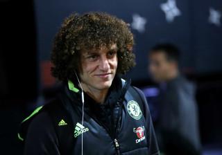 David Luiz regressou à Luz... para matar saudades