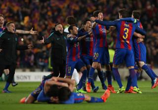 Festejos após vitória sobre o PSG valeram multa ao Barcelona