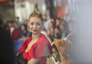 Luciana Abreu recorda 'Floribella' durante concerto