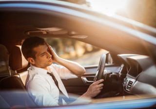 Conduzir de ressaca pode ser tão perigoso como fazê-lo alcoolizado