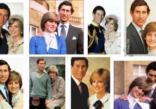 Consegue dizer o que há de 'estranho' com estas fotos de Carlos e Diana?