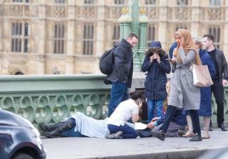 Esta imagem do atentado de ontem está a gerar controvérsia