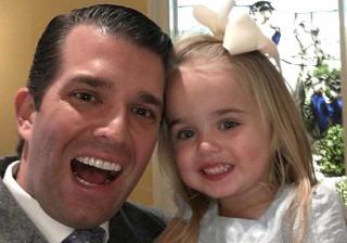 O amor de Donald Trump Jr. pelos filhos