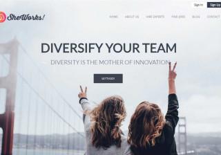 SheWorks: O site que quer colocar as mulheres talentosas a trabalhar