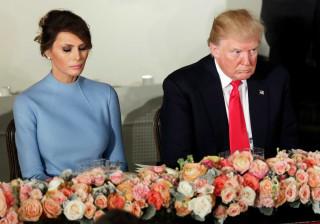 Donald e Melania Trump estarão a dormir em quartos separados