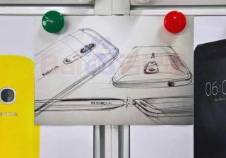 Este esboço mostra um (grande) detalhe do próximo Nokia