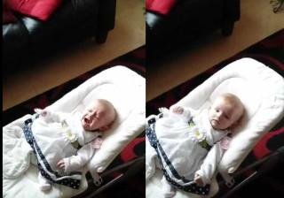 Bebé de quatro meses torna-se a fã mais nova de Ed Sheeran