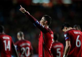 Seleção Nacional recebe Suécia na primeira vez de Ronaldo na Madeira