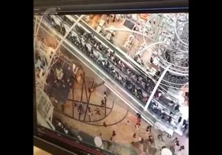 Desastre: Escadas rolantes mudaram de direção e aumentaram velocidade