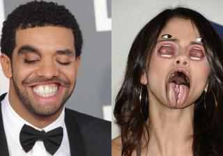 As fotografias mais 'aterradoras' que vai ver de celebridades