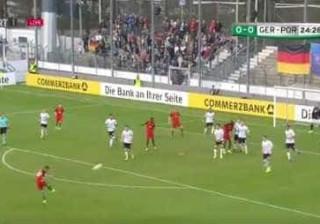 Bruno Fernandes marcou um verdadeiro golaço frente à Alemanha