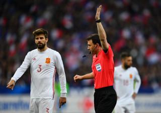 Vídeo-árbitro foi o grande protagonista no França-Espanha