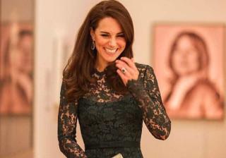 Exuberante, Kate Middleton brilha numa festa em Londres