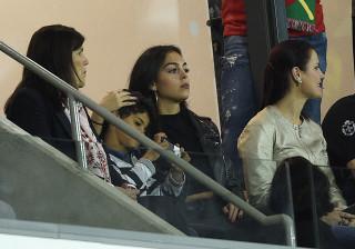 Georgina esteve na Madeira a apoiar Ronaldo