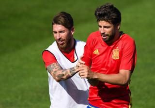 Ramos responde a Piqué: