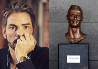 Cláudio Ramos sobre busto de Ronaldo: