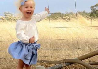 Mãe tirou fotografia e só depois viu predador a centímetros da filha