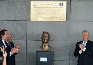 Vitória de Guimarães deu toque final ao busto de CR7