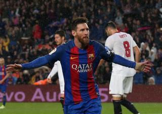 Messi só pediu uma vez para trocar de camisola. Sabe a quem?