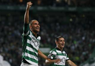 Bas Dost arriscou no português e deixou mensagem aos adeptos do Sporting