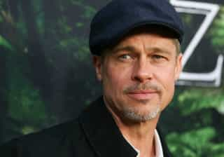 Brad Pitt tem uma nova hóspede em casa