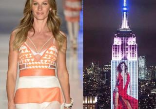 Musas internacionais em destaque no Empire State Building
