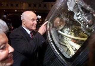 Cápsula John Glenn chegou à estação espacial internacional