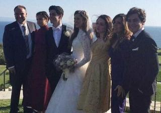 Selena Gomez não faltou ao casamento do 'irmão mais velho'