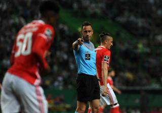 Sporting diz ter imagens da 'espera' do Benfica a Soares Dias
