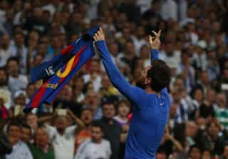 O Real-Barcelona também se jogou nas redes sociais.  Quem venceu?
