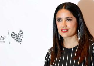 Salma Hayek revela que entrou num estado de transe para gravar com cobras