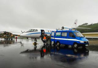 Força Aérea resgata dois feridos com gravidade nos Açores