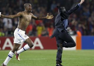 Eto'o revela o curioso discurso de Mourinho na final da Champions