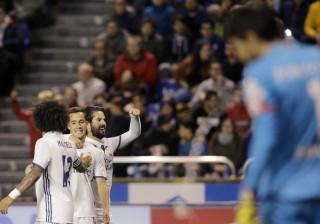 Foi à meia dúzia que o Real Madrid 'despachou' o Deportivo